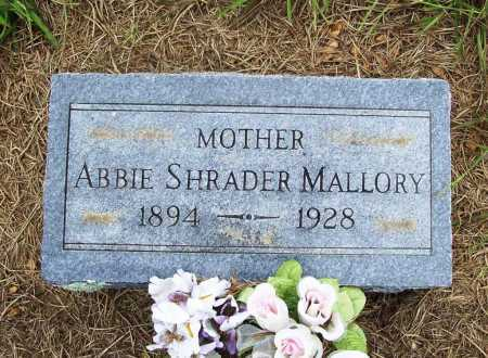 MALLORY, ABBIE - Benton County, Arkansas | ABBIE MALLORY - Arkansas Gravestone Photos