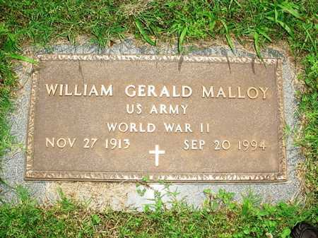 MALLOY (VETERAN WWII), WILLIAM GERALD - Benton County, Arkansas | WILLIAM GERALD MALLOY (VETERAN WWII) - Arkansas Gravestone Photos