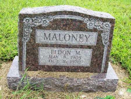 MALONEY, ELDON M. - Benton County, Arkansas | ELDON M. MALONEY - Arkansas Gravestone Photos