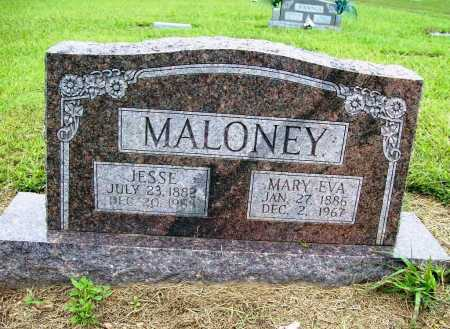 MALONEY, MARY EVA - Benton County, Arkansas | MARY EVA MALONEY - Arkansas Gravestone Photos