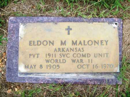 MALONEY (VETERAN WWII), ELDON M - Benton County, Arkansas | ELDON M MALONEY (VETERAN WWII) - Arkansas Gravestone Photos