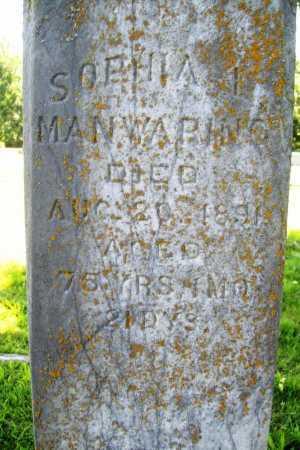 MAMWARING, SOPHIA I - Benton County, Arkansas | SOPHIA I MAMWARING - Arkansas Gravestone Photos