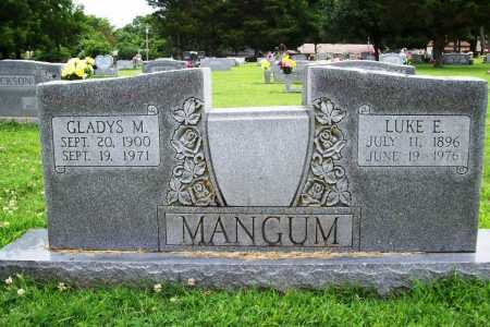 MANGUM, LUKE ELMER - Benton County, Arkansas | LUKE ELMER MANGUM - Arkansas Gravestone Photos
