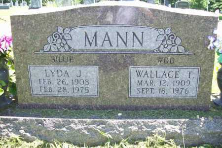 MANN, WALLACE T. - Benton County, Arkansas | WALLACE T. MANN - Arkansas Gravestone Photos