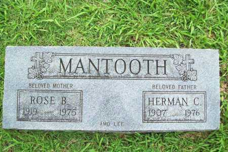 ROCHIER MANTOOTH, ROSE B. - Benton County, Arkansas | ROSE B. ROCHIER MANTOOTH - Arkansas Gravestone Photos
