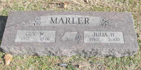 WEISER MARLER, JULIA H. - Benton County, Arkansas | JULIA H. WEISER MARLER - Arkansas Gravestone Photos