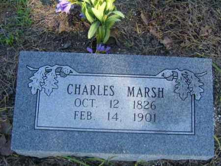MARSH, CHARLES - Benton County, Arkansas | CHARLES MARSH - Arkansas Gravestone Photos