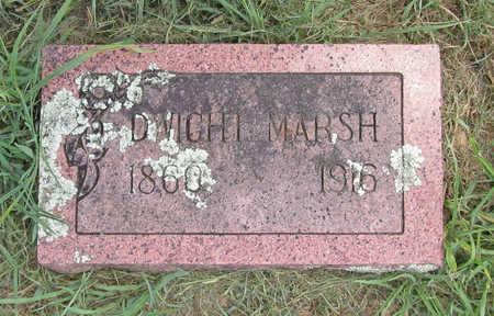 MARSH, DWIGHT - Benton County, Arkansas | DWIGHT MARSH - Arkansas Gravestone Photos