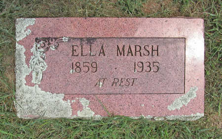 MARSH, ELLA - Benton County, Arkansas | ELLA MARSH - Arkansas Gravestone Photos