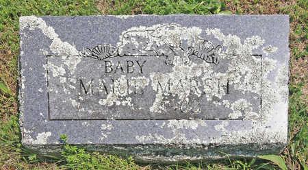 MARSH, MARIE - Benton County, Arkansas | MARIE MARSH - Arkansas Gravestone Photos