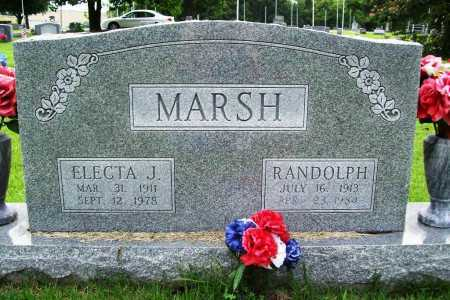 MARSH, RANDOLPH - Benton County, Arkansas | RANDOLPH MARSH - Arkansas Gravestone Photos