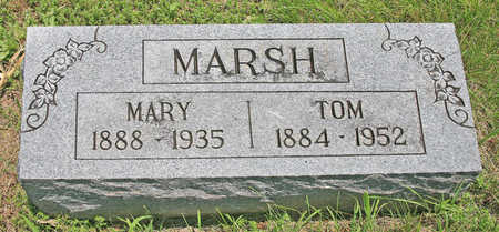 MARSH, TOM - Benton County, Arkansas | TOM MARSH - Arkansas Gravestone Photos