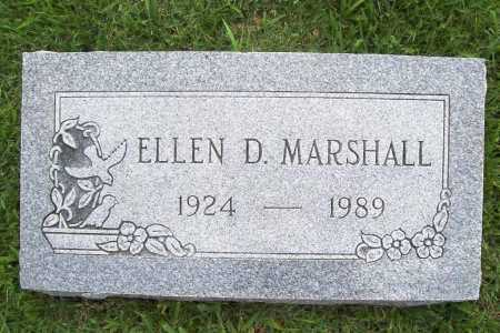 MARSHALL, ELLEN D. - Benton County, Arkansas | ELLEN D. MARSHALL - Arkansas Gravestone Photos