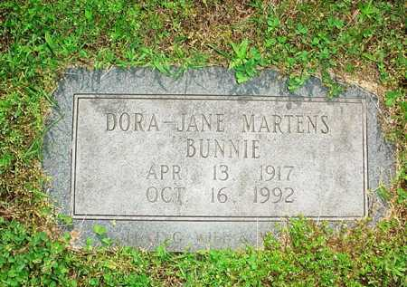 MARTENS, DORA-JANE - Benton County, Arkansas | DORA-JANE MARTENS - Arkansas Gravestone Photos