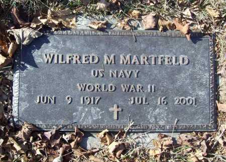 MARTFELD (VETERAN WWII), WILFRED M. - Benton County, Arkansas | WILFRED M. MARTFELD (VETERAN WWII) - Arkansas Gravestone Photos