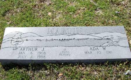 MARTIN, ARTHUR J. - Benton County, Arkansas | ARTHUR J. MARTIN - Arkansas Gravestone Photos