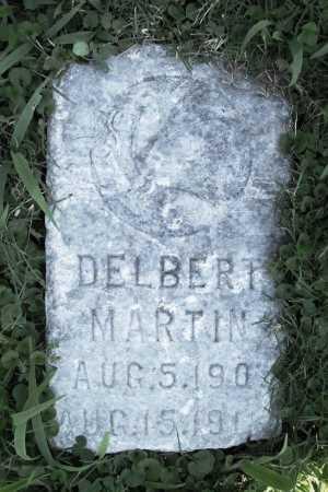 MARTIN, DELBERT - Benton County, Arkansas | DELBERT MARTIN - Arkansas Gravestone Photos