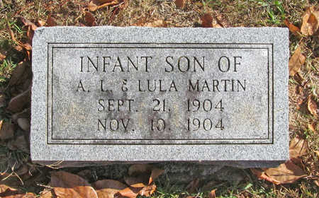 MARTIN, INFANT SON - Benton County, Arkansas | INFANT SON MARTIN - Arkansas Gravestone Photos