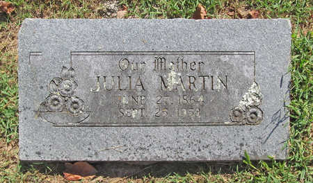 MARTIN, JULIA - Benton County, Arkansas | JULIA MARTIN - Arkansas Gravestone Photos