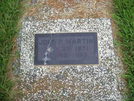 MARTIN, JOHN P. - Benton County, Arkansas | JOHN P. MARTIN - Arkansas Gravestone Photos