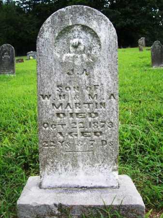 MARTIN, J. A. - Benton County, Arkansas | J. A. MARTIN - Arkansas Gravestone Photos
