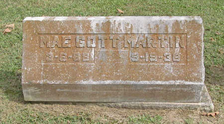 MARTIN, MAE - Benton County, Arkansas | MAE MARTIN - Arkansas Gravestone Photos