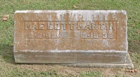 MARTIN, MAE - Benton County, Arkansas | MAE MARTIN - Arkansas Gravestone Photos