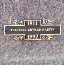 MARTIN, THEODORE EDWARD - Benton County, Arkansas | THEODORE EDWARD MARTIN - Arkansas Gravestone Photos