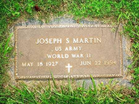 MARTIN (VETERAN WWII), JOSEPH S. - Benton County, Arkansas | JOSEPH S. MARTIN (VETERAN WWII) - Arkansas Gravestone Photos