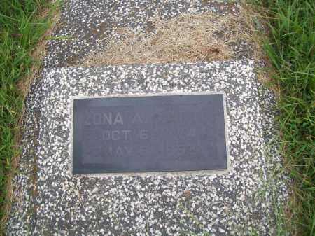 MARTIN, ZONA A. - Benton County, Arkansas | ZONA A. MARTIN - Arkansas Gravestone Photos
