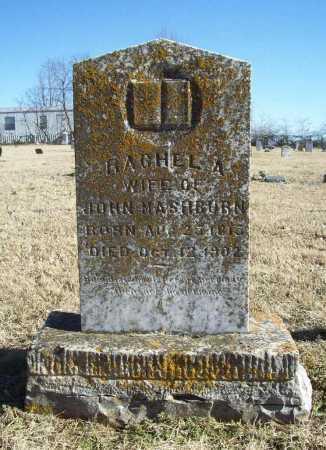 MASHBURN, RACHEL A. - Benton County, Arkansas | RACHEL A. MASHBURN - Arkansas Gravestone Photos