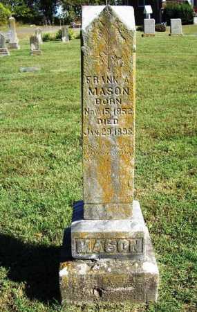 MASON, FRANK A. - Benton County, Arkansas | FRANK A. MASON - Arkansas Gravestone Photos