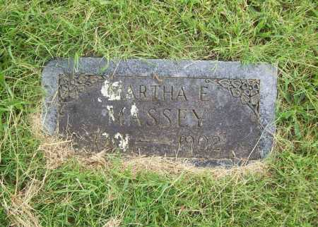 MASSEY, MARTHA E. - Benton County, Arkansas | MARTHA E. MASSEY - Arkansas Gravestone Photos