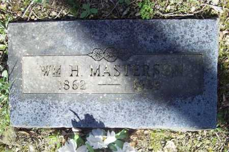 MASTERSON, WILLIAM H. - Benton County, Arkansas | WILLIAM H. MASTERSON - Arkansas Gravestone Photos