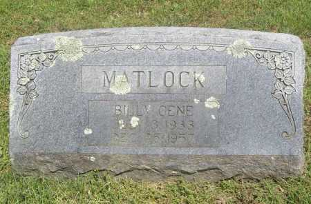 MATLOCK, BILLY GENE - Benton County, Arkansas | BILLY GENE MATLOCK - Arkansas Gravestone Photos