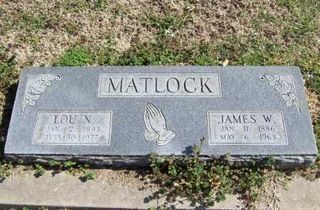 GRAHAM MATLOCK, LOU NANCY - Benton County, Arkansas | LOU NANCY GRAHAM MATLOCK - Arkansas Gravestone Photos