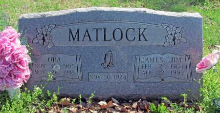 MATLOCK, ORA - Benton County, Arkansas | ORA MATLOCK - Arkansas Gravestone Photos