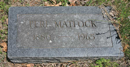 MATLOCK, PERL - Benton County, Arkansas | PERL MATLOCK - Arkansas Gravestone Photos