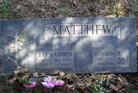 MATTHEW, EVA - Benton County, Arkansas | EVA MATTHEW - Arkansas Gravestone Photos