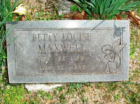 MAXWELL, BETTY LOUISE - Benton County, Arkansas | BETTY LOUISE MAXWELL - Arkansas Gravestone Photos