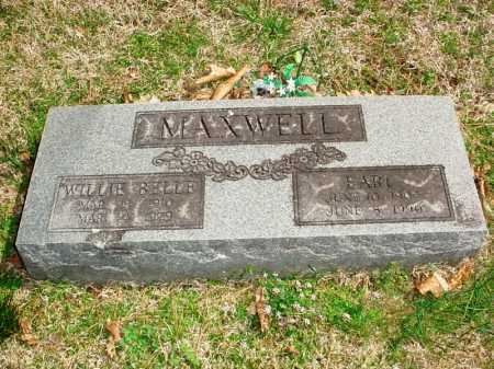 MAXWELL, WILLIE BELLE - Benton County, Arkansas | WILLIE BELLE MAXWELL - Arkansas Gravestone Photos