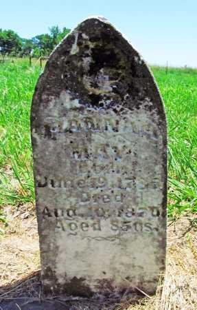 MAY, HANNAH - Benton County, Arkansas | HANNAH MAY - Arkansas Gravestone Photos