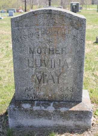 MAY, LUVINA - Benton County, Arkansas | LUVINA MAY - Arkansas Gravestone Photos