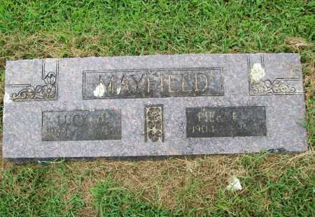 MAYFIELD, PIERCE H. - Benton County, Arkansas | PIERCE H. MAYFIELD - Arkansas Gravestone Photos