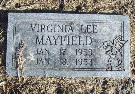 MAYFIELD, VIRGINIA LEE - Benton County, Arkansas | VIRGINIA LEE MAYFIELD - Arkansas Gravestone Photos