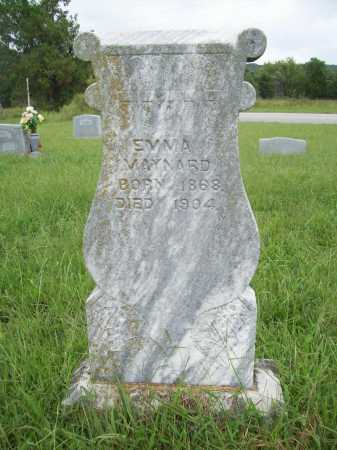 MAYNARD, EMMA - Benton County, Arkansas | EMMA MAYNARD - Arkansas Gravestone Photos