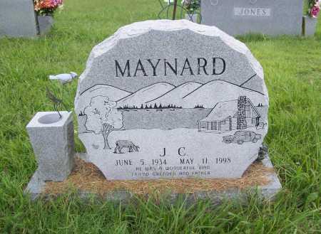 MAYNARD, J. C. - Benton County, Arkansas | J. C. MAYNARD - Arkansas Gravestone Photos