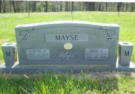 MAYSE, IVAN L. - Benton County, Arkansas | IVAN L. MAYSE - Arkansas Gravestone Photos
