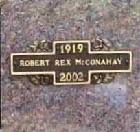 MCCONAHAY, ROBERT REX - Benton County, Arkansas | ROBERT REX MCCONAHAY - Arkansas Gravestone Photos
