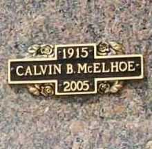 "MCELHOE, CALVIN B. ""MAC"" - Benton County, Arkansas 